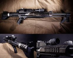 Mass Effect M-98 Black Widow - details by Arashi-no-Tori