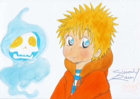 Kenny from the South Park by Sunny-X-Ray