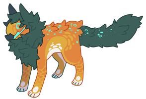 [Adopt] Rascal #1(Closed) by Mynosylexia