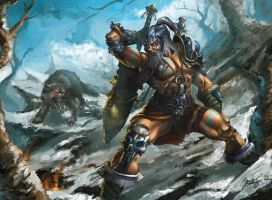 Barbarian by GansOne89
