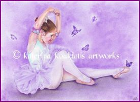 Ballet De Papillon by Katerina-Art