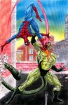 Spiderman vs the Scorpion by Bracey100