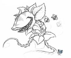 Audrey II WIP by The-Snowlion