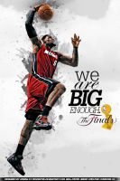 Lebron James Finals Wallpaper ( Iphone Version ) by drgraphic