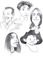 Caricatures of DEVIANTS by borogove13