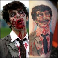 Zombie Tattoo by JoeySCOMA