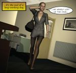 Penelope - Working Late 2 by Torqual3D