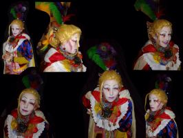 Cosplay makeup by Pchoppy