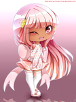 Milky redesigned by miruukii-hime