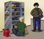HS - Trapped in the vending machine by MasterFranny