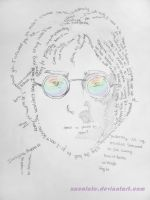John Lennon by MaureenMachine