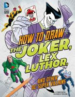 How to Draw DC Super Villains cover by TimLevins