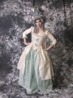 18th Cent. French Court Dress by msventress