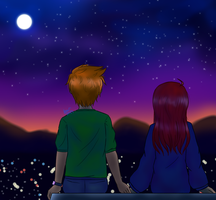 Share the Night Sky by garche4291