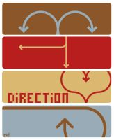 Direction by blushing