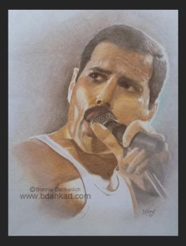 Freddie Mercury by bdank