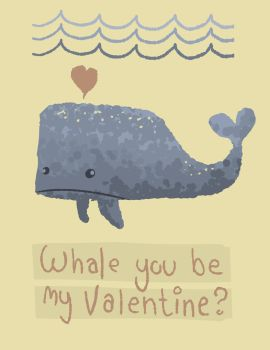 Valentine Whale by nbear015