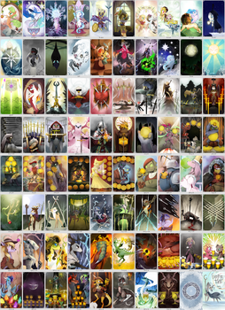 EverFree Tarot Card - All Cards by GashibokA