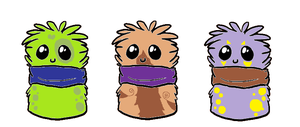 Scarf Blob Cuties. *CLOSED* by Guineapigwuv