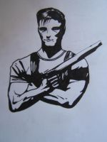 The Punisher by Roverdabummer