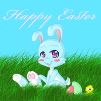 easter bunny by to-lazy-for-username