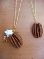 Pecan Necklaces by KawaiiCulture