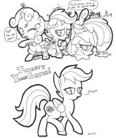 Improbable Scootie-Mark by ABronyAccount