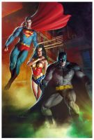 DC Heroes by Valzonline