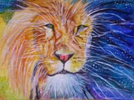 AbstractLion by ninacmartin