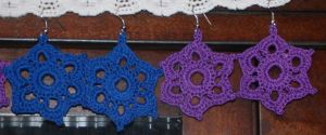 Snowflake Earrings by naturegirl52180