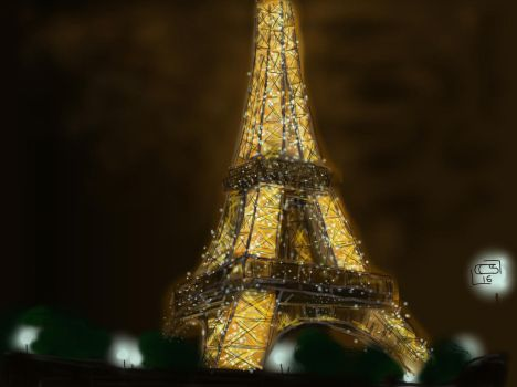 Tour Eiffel by diminoucrackers