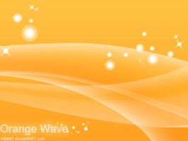 Orange Wave by VSX47
