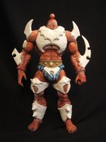 MOTUC custom War-Wolf V2 WIP by masterenglish