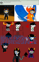 Question #25 Vriska quadrant and eyes by Ask-Homestuck-Betas