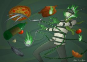french gourmet Thresh by aderbaul1