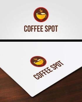 Coffee Spot Logo by pascreative
