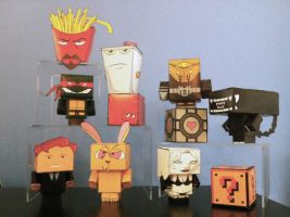 Cubees I've Built by The-Cat-Speaks