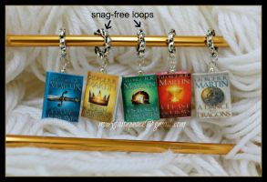 Game of Thrones Stitch Markers by maryfaithpeace