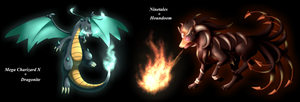 Pokemon fusions by WaterSkies