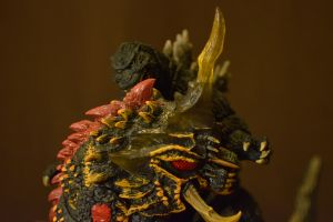 S.H Monsterarts Battra Larva (10/10) by GIGAN05