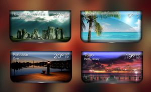 Boss Weather 5 for xwidget by jimking