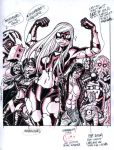 EMPOWERED cover color guide by AdamWarren