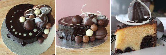 Chocolate Bubble Cake by cakecrumbs