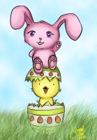 Happy Easter by SanniRii
