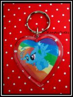 MLP: Dash 02 Keychain by ObjectionSoS