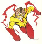 Kid Flash: Bart Allen by Vauz