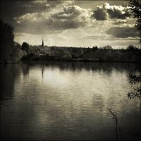 melancholy town by napoca