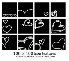 100x100 Heart Icon textures by DasfnBa