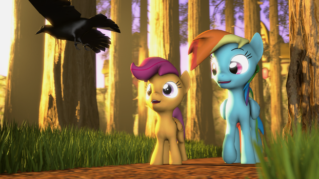 {SFM} MLP: A forest walk by jaygaming1