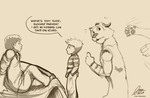 Life of Hobbes by madcoffee